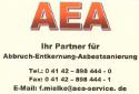 AEA - Abbruch, Sanierung, Asbestsanierung